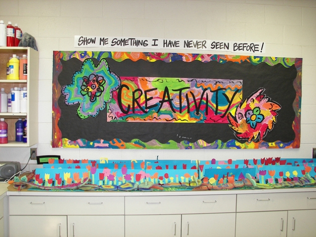 How can you encourage creativity in classroom?