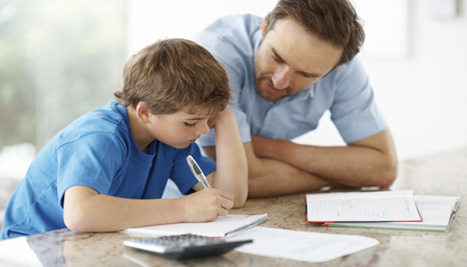 Should you get too involved in your child's homework?